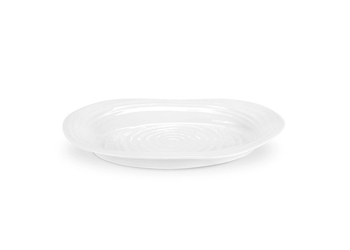 Sophie Conran by Portmeirion 14-3/4-Inch-by-12-Inch Oval Platter, White - 1