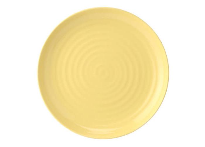 """Sophie Conran Colour Pop Coupe Plate Sunshine 10.5"""" - 1"""