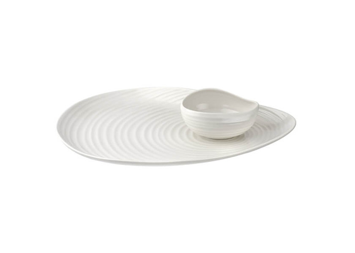 Sophie Conran Shell Shaped Serving Platter & Bowl - 1