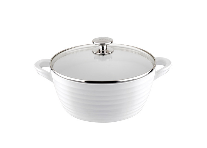 Sophie Conran White 24cm Large Casserole and Lid - 1