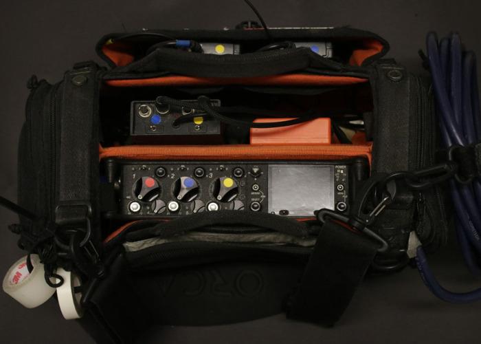 Sound Devices 633 Mixer/Recorder /w Bag, NP1 kit - 1