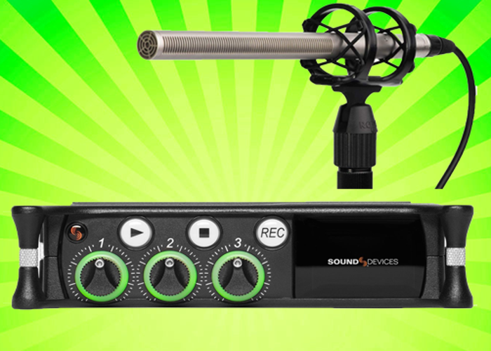 Sound Devices MixPre 3 II Audio Recorder + Rode NTG 3 Mic  - 1
