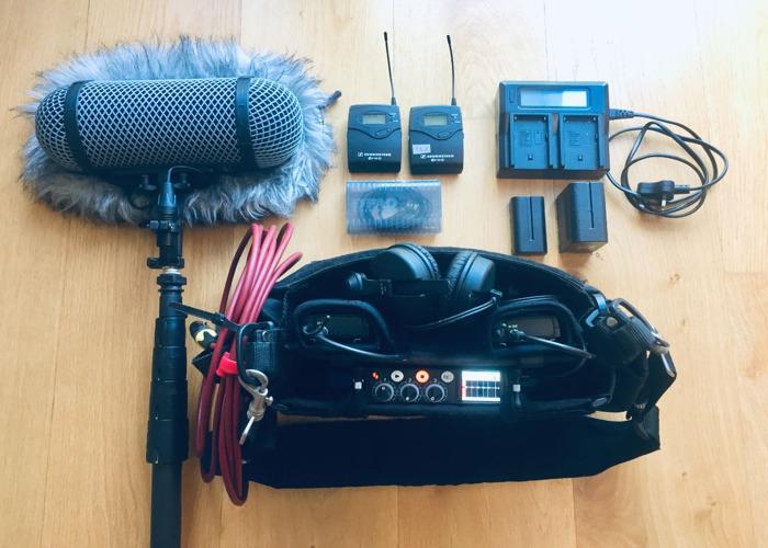 Sound Recording / Audio Kit with MixPre 3, Boom & Radio Mics - 1