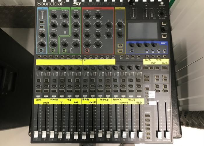 Soundcraft digital mixer si compact 16 - 2