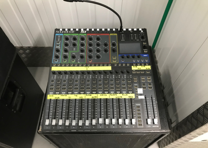 Soundcraft digital mixer si compact 16 - 1