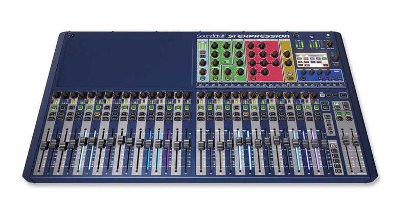 Soundcraft Expression 3 Mixing Desk - 1