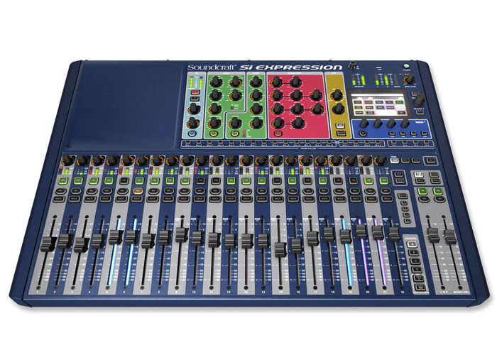 Soundcraft Si Expression 2 Digital Mixing Console - 2