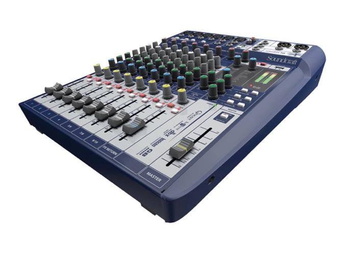 Soundcraft Signature 10 Compact Mixer - 2