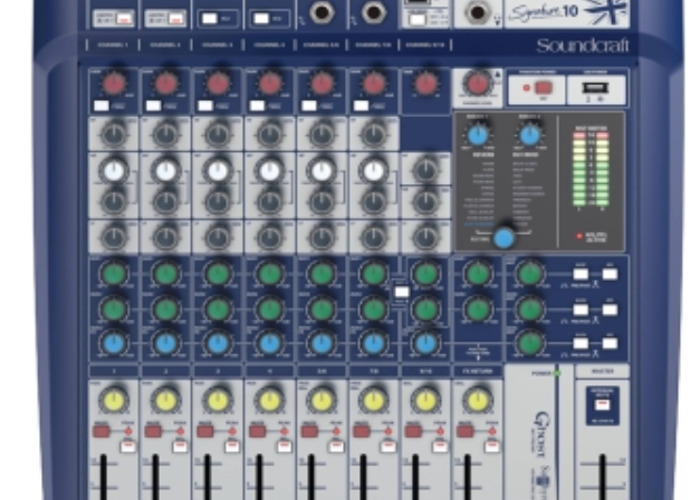 Soundcraft Signature 10 Compact Mixer - 1