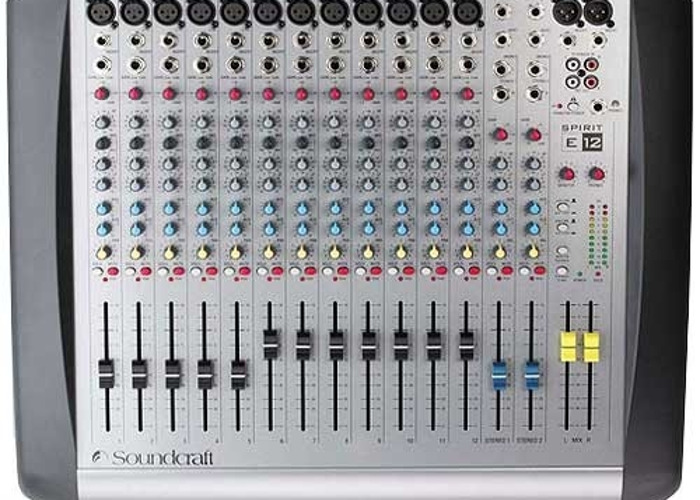 Soundcraft Spirit e12 - 1