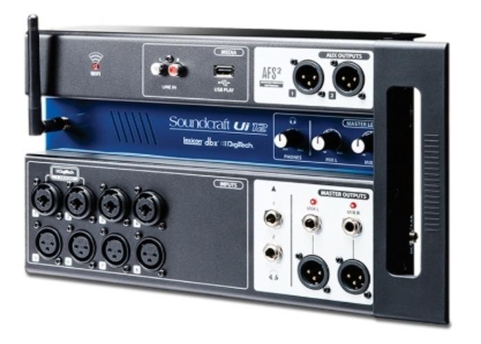 Soundcraft UI12 remote controlled digital mixer - 1