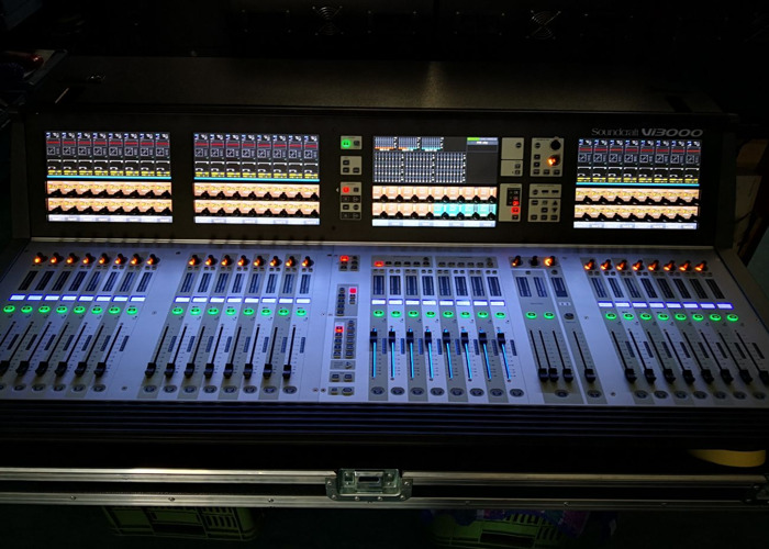 Soundcraft Vi3000 with Stagebox 64/32 - 2