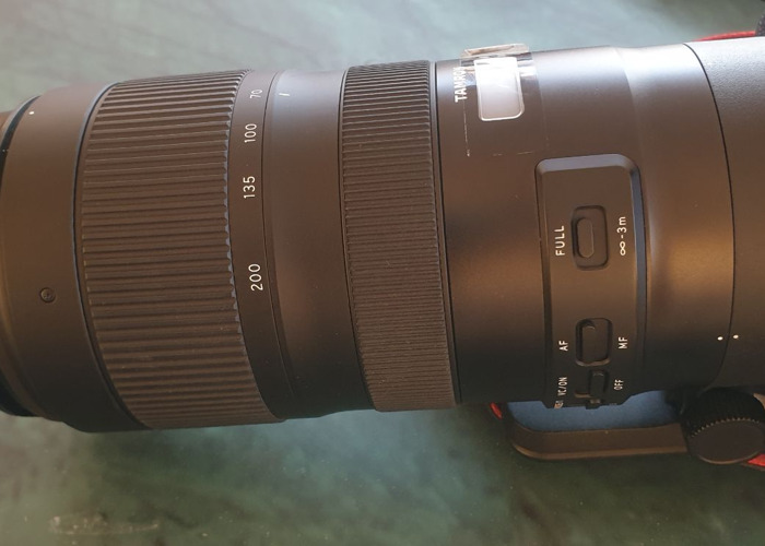 SP 70-200mm f/2.8 Di VC USD G2 Lens for Canon EF - 1