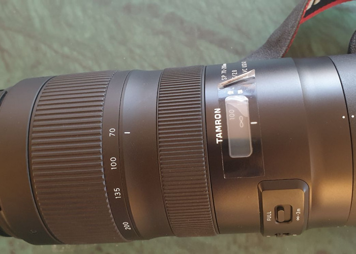 SP 70-200mm f/2.8 Di VC USD G2 Lens for Canon EF - 2