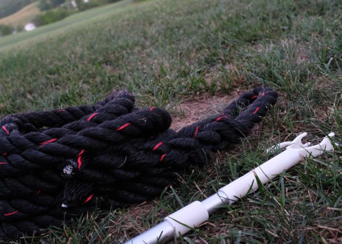 Spartan Climbing Rope (& Extendable Pole), Exercise - 1