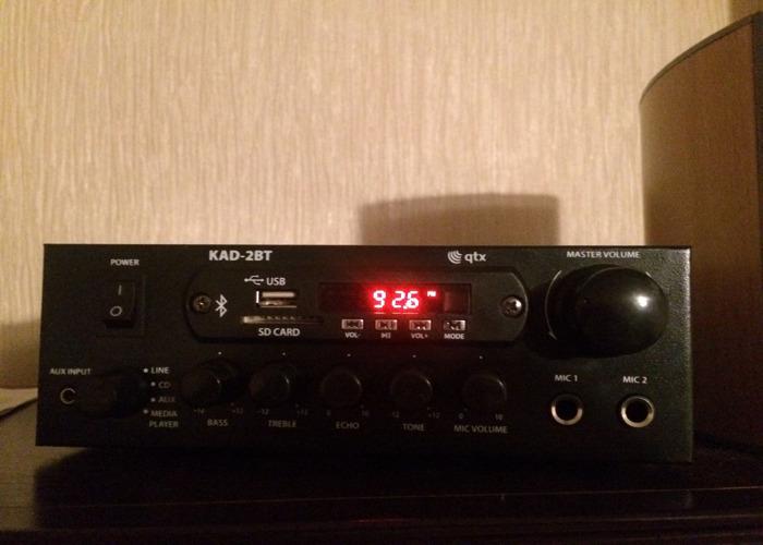 Speaker & Amplifier System 100W - 2