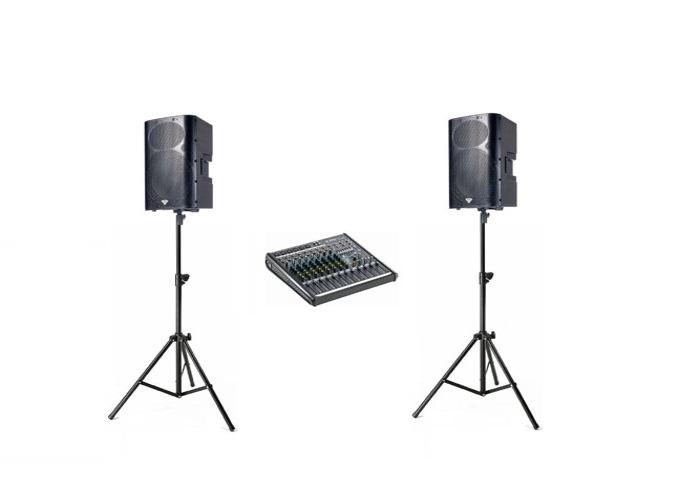 Speaker Active Powered  2x - Cerwin Vega P1500X  - 1