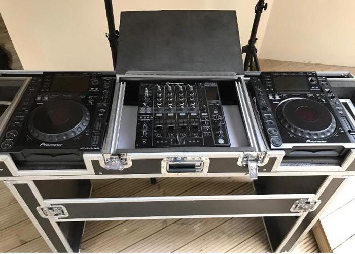 Speakers + DJ Equipment + Deck Stand  - 2