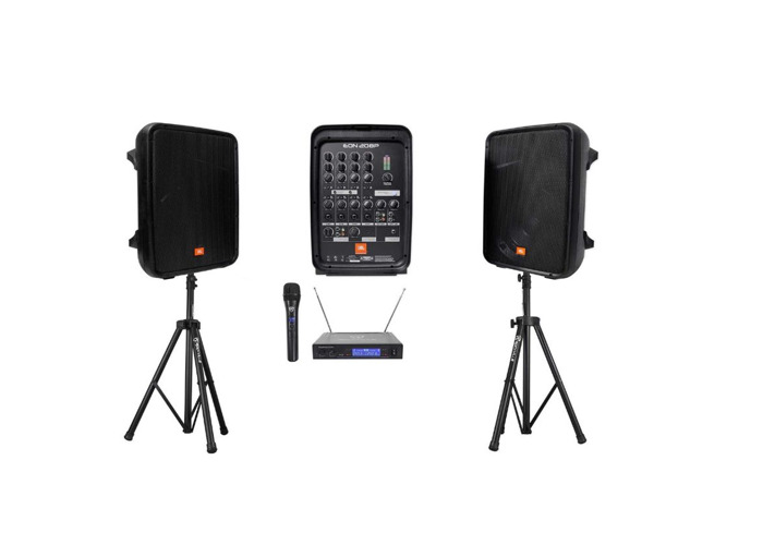 Speakers Wifi microphone - cordless mic - Pa Sytem - 1