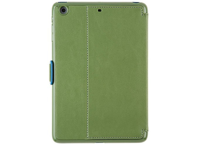 Speck SPK-A3346 Style Folio Case for iPad Mini - Moss/Sea Blue - 2