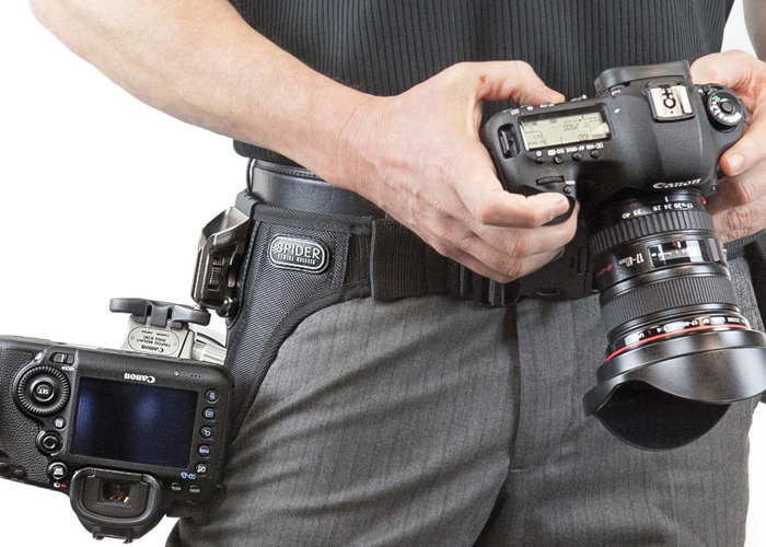 Spider Holster Camera Grip - carry 2x cameras all day long - 2