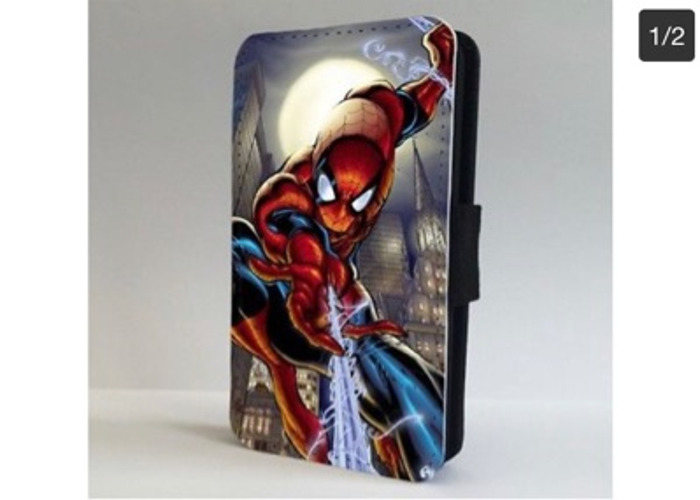 Spider Man Awsome Art Marvel FLIP PHONE CASE COVER - 1