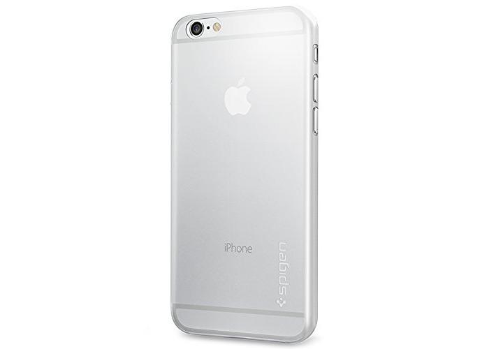 Spigen Air Skin Premium Hard Cover Case for iPhone 6 - Clear - 1