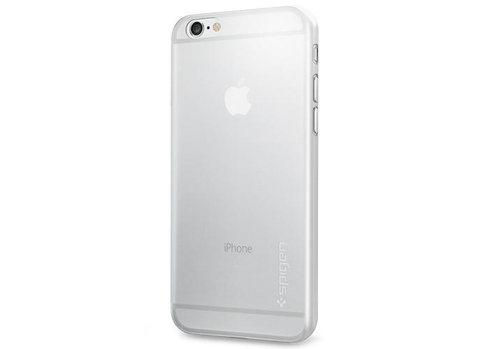 Spigen Air Skin Premium Hard Cover Case for iPhone 6 - Clear - 2
