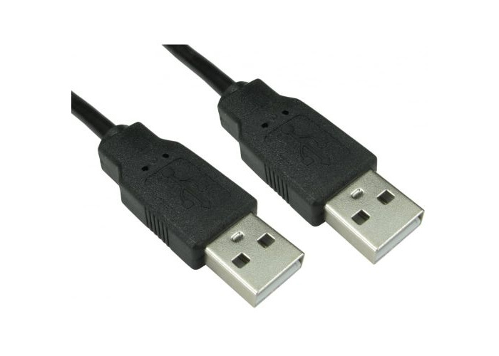 Spire USB 2.0 Type-A Cable, Male to Male, 1 Metre - 1