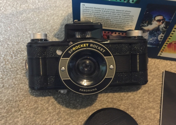Sprocket Rocket Camera : Rent sprocket rocket lomography 35mm film camera fat llama