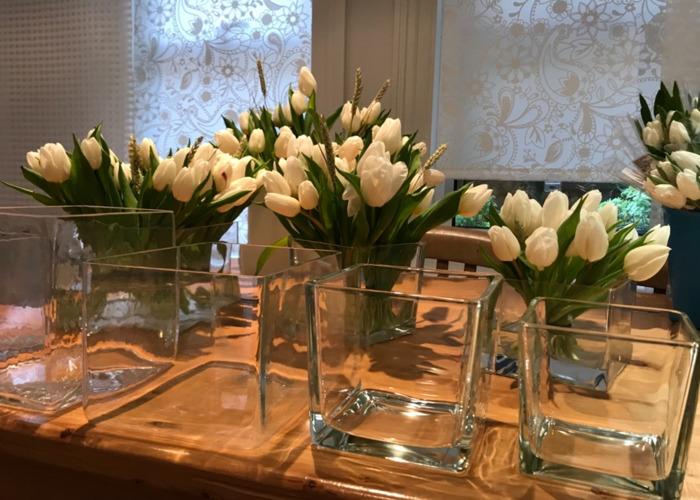 Square decoration vases - 2