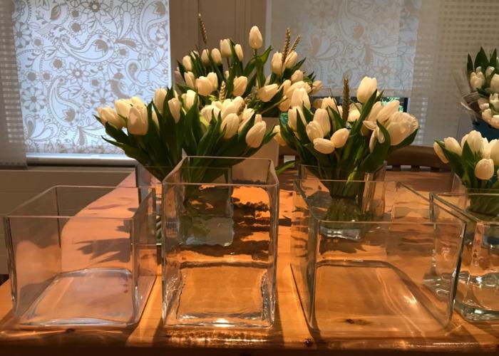 Square decoration vases - 1