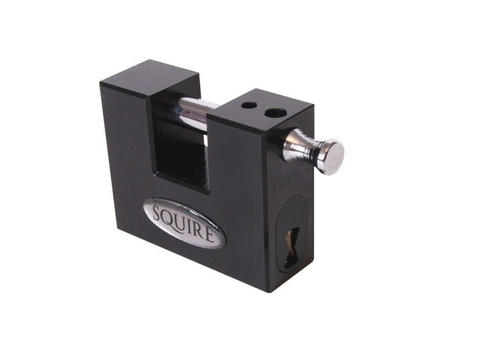 Squire WS75S KA TO 0039186 Stronghold Container Block Lock 80mm Keyed Alike - 1