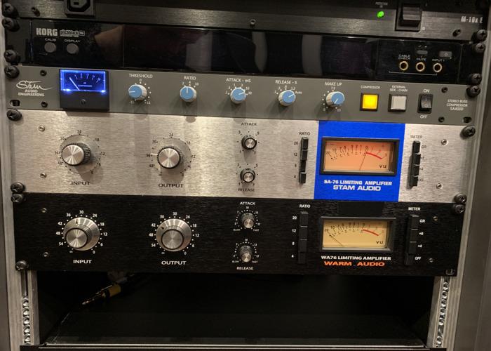 Stam Audio 1176 Blue Stripe Compressor - 1
