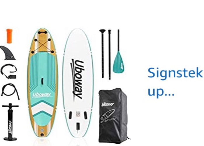 2 x Stand Up Paddle boards - 1