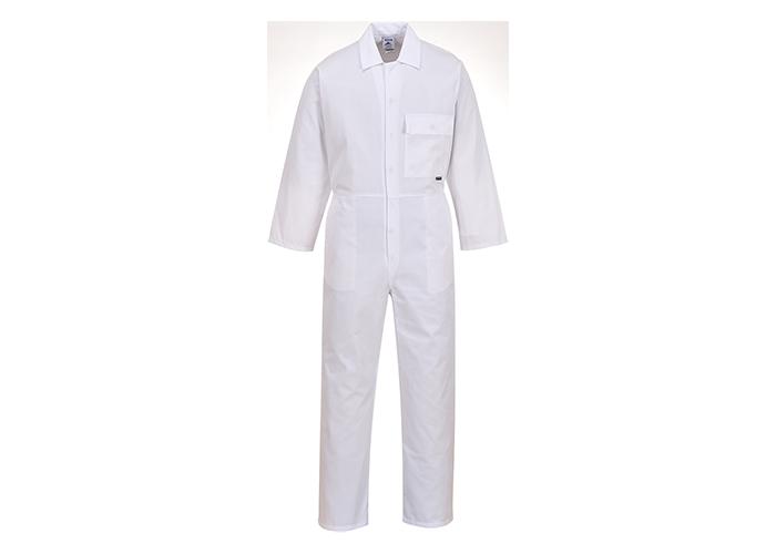 Standard Boilersuit  White  XSmall  R - 1