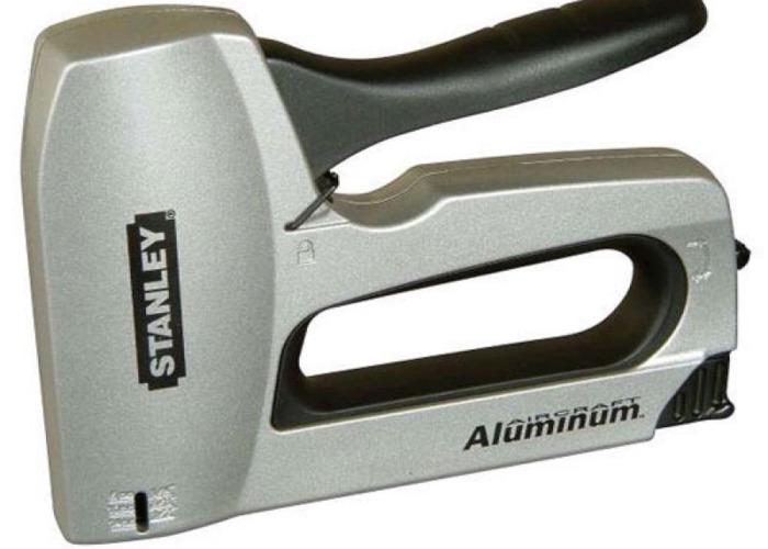 Staple gun aluminiun havy duty stanley  - 1