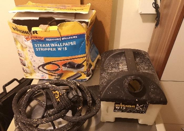 Steam wallpaper stripper / wallpaper remover - 2