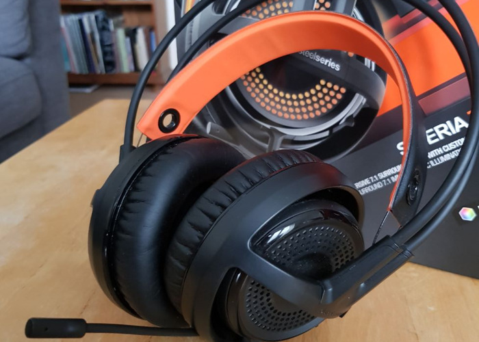 Steel series Siberia 350 7.1 headphones - 2