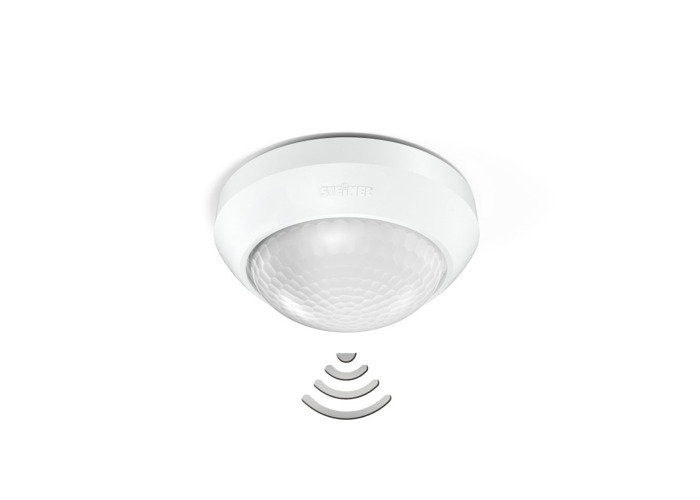 Steinel IS 360-3 Duo InfraRed Ceiling Sensor, White - 1