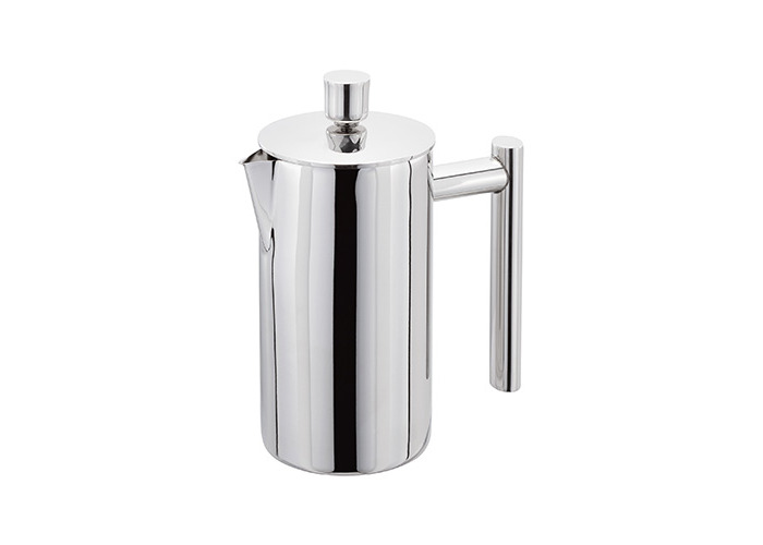 Stellar 3 Cup Polished Double Wall Insulated Cafetiere - 1