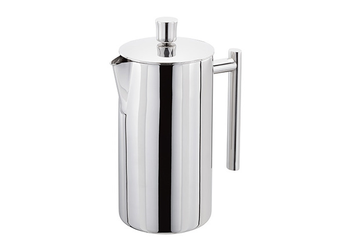 Stellar 8 Cup Polished Double Wall Insulated Cafetiere - 1