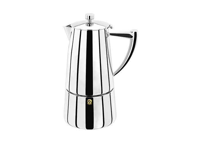 Stellar Art Deco 6 Cup Espresso Maker - 1