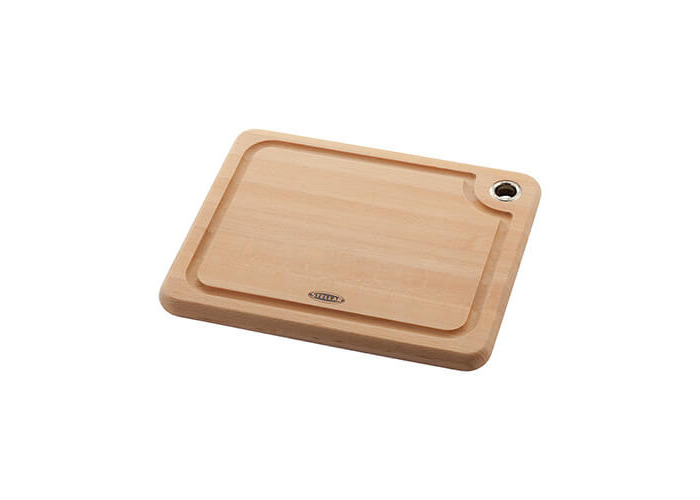 Stellar Beech Woodware 27 x 22 x 2cm Cutting Board - 1