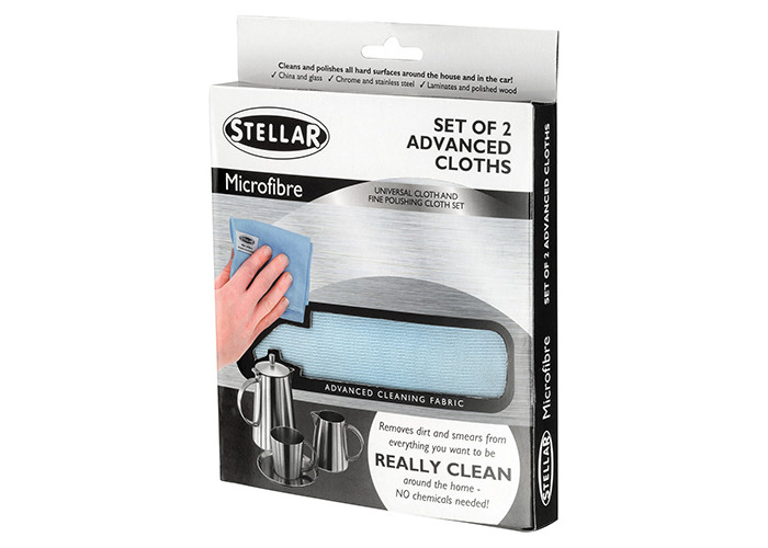 Stellar Microfibre Cleaning Cloth (2 pck) - 1