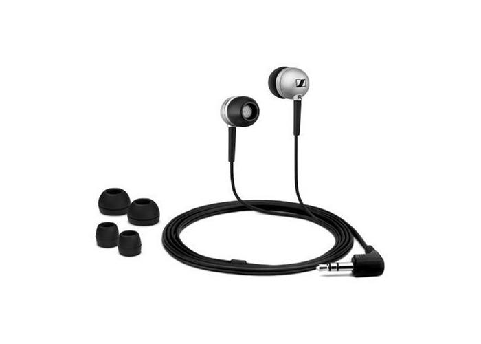 Stereo Ear-Canal Headphones - Silver - 2