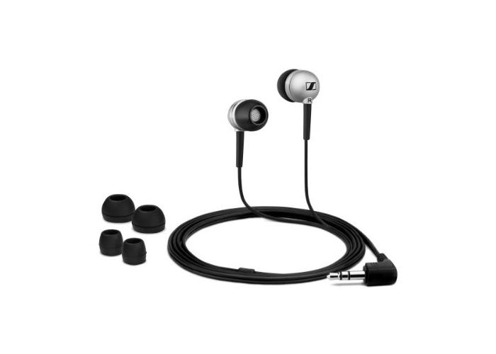 Stereo Ear-Canal Headphones - Silver - 1