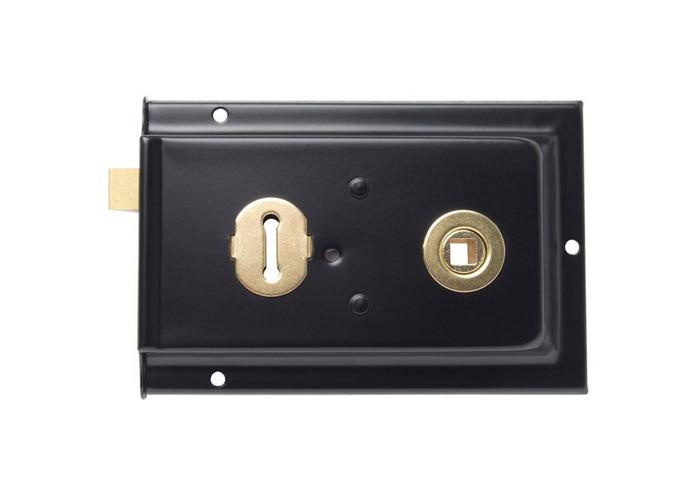Sterling SRL004 Rim Lock Sash Black 152 x 101mm - 1