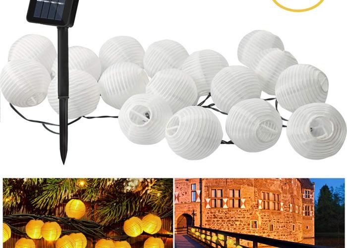 Sting Light Lanterns for Garden Party (30 Lanterns) - 2