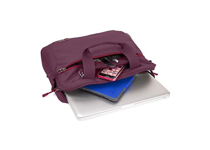 """STM STM112084K40 Swift Padded Laptop Case for 11"""" Dark Red - 2"""